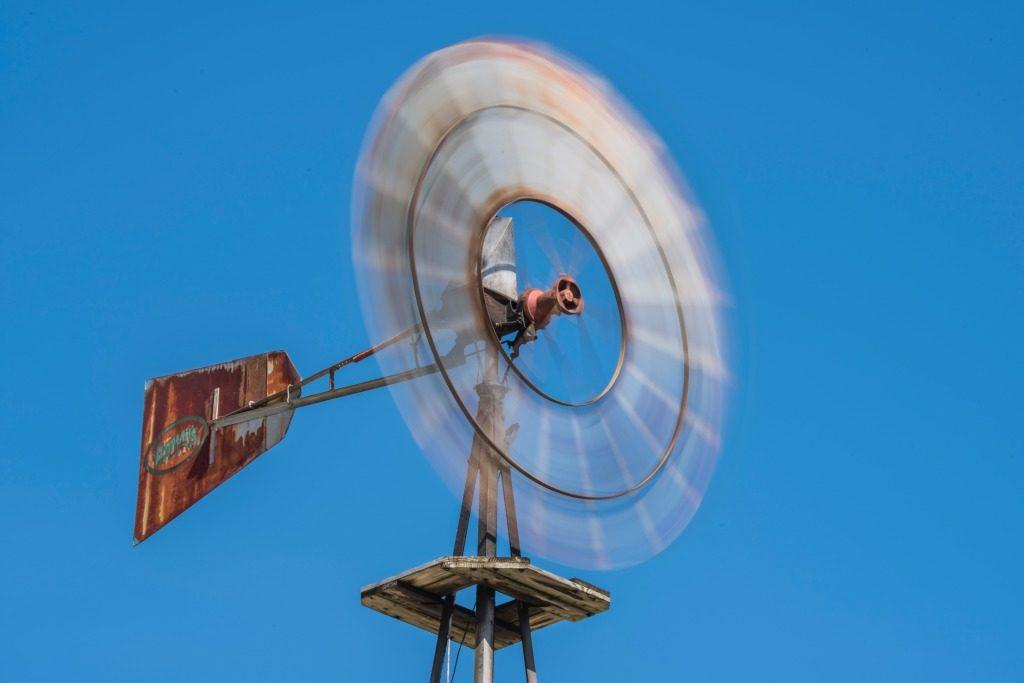 風速ごとの時速・瞬間風速