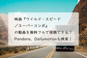 ワイルド・スピード/スーパーコンボ