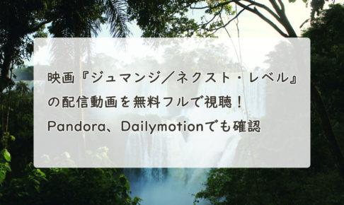 映画『ジュマンジ/ネクスト・レベル』の配信動画を無料フルで視聴!Youtube、Pandora、Dailymotionでも確認